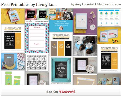Free Printables By Amy Locurto LivingLocurto.com