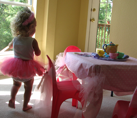 2 Year Old Dress Up Tea Party