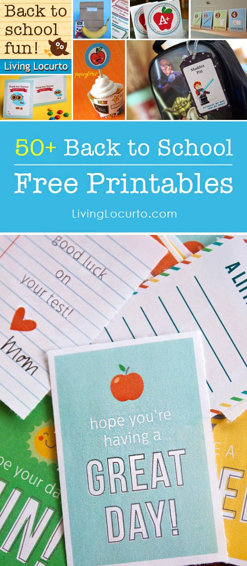 This is an image of Inventive Back to School Printable