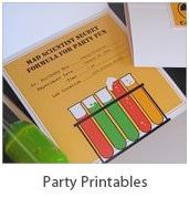 Free Party Printables at Living Locurto - LivingLocurto.com Fun party ideas!