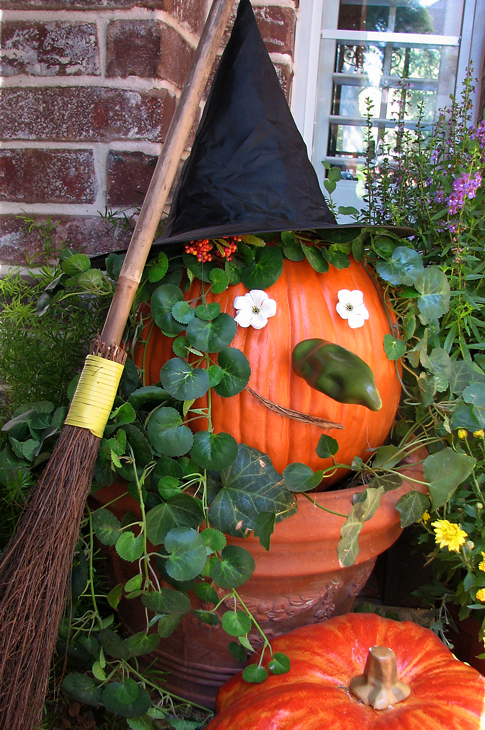 Halloween Porch - Witch Pumpkin by Amy Locurto | Living Locurto