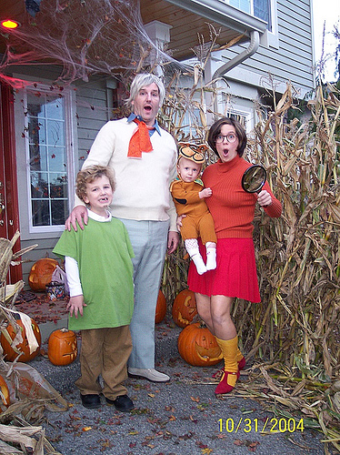 Scooby Doo Family Halloween Costumes
