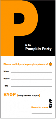 Pumpkin Party Free Printable Invitation - LivingLocurto.com