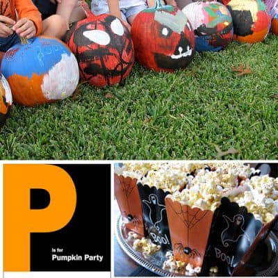 Pumpkin Painting Party Ideas
