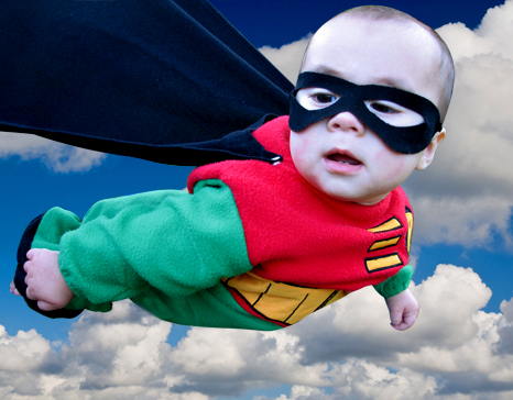 Super Baby- Photoshop Tutorial