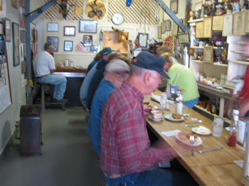 Pawhuska, Oklahoma Small Town Tour | Sally's Cafe
