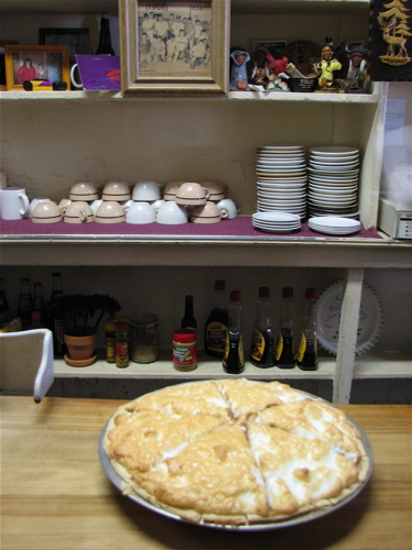 Pawhuska, Oklahoma Small Town Tour | Sally's Cafe Chocolate Pie