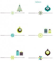 Free Christmas tags & labels