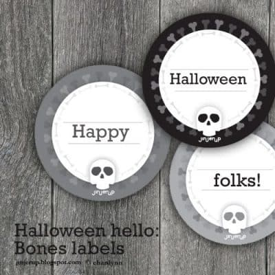 Halloweenhlabel