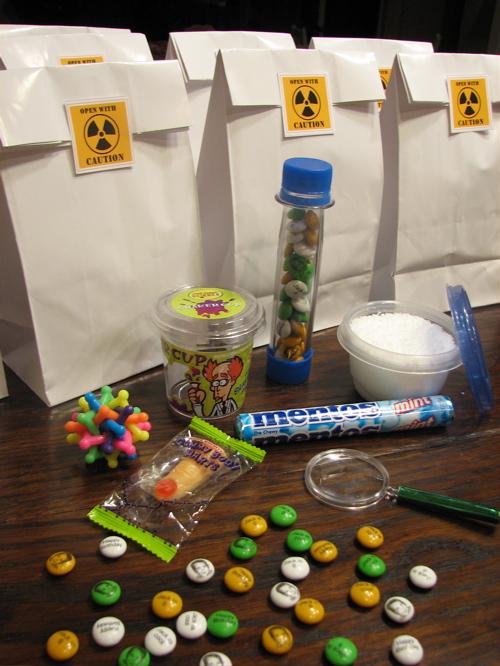 Fun Science Birthday Party Ideas at LivingLocurto.com