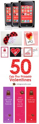Enjoy some of the CUTEST Valentines Day Free Printables for Kids of all ages. Cute Valentine's Day gifts for preschool, elementary or middle school aged kids and teachers!