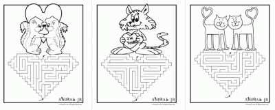 Free Printable Valentine Coloring Sheets