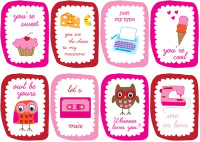 50 Cute Free Printables for Valentines Day – Clever Valentines Cards
