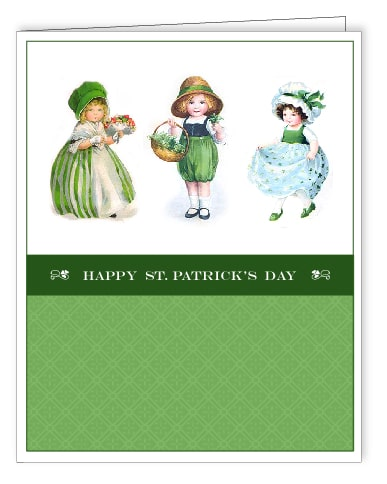 St. Patrick's Day Free Printable Cards via LivingLocurto.com