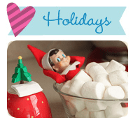 Holiday DIY Crafts, Recipes, Printables & Party Ideas