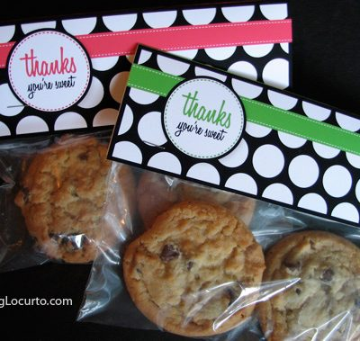 Thanks You're Sweet – Free Printable Gift Tags