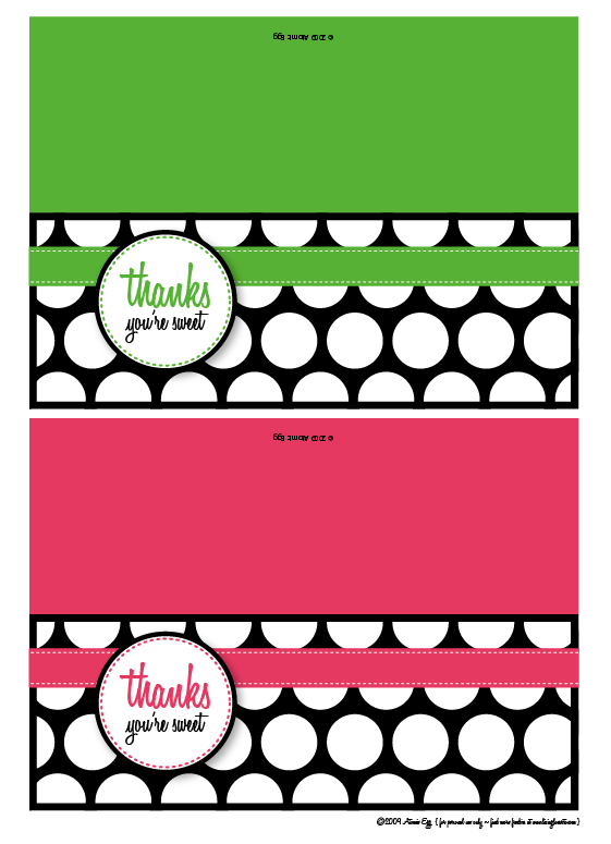 photograph about Thank You Printable Tag named Due Youre Cute - Absolutely free Printable Reward Tags