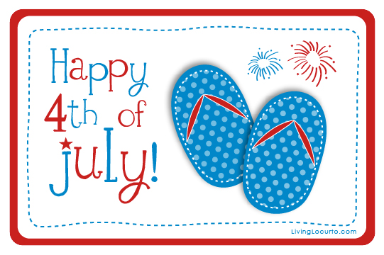 4th of july free printable. Th roundup living