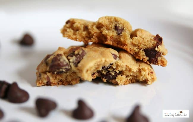 A recipe for the BEST and softest chocolate chip cookies! A classic chocolate chip cookie recipe.