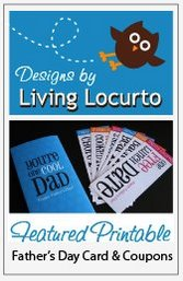 Father's Day Printable Gift Idea - Father's Day Coupon Cards!