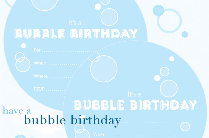 Birthday Party Inspiration Winners – Free Printable Party Invitations No Download