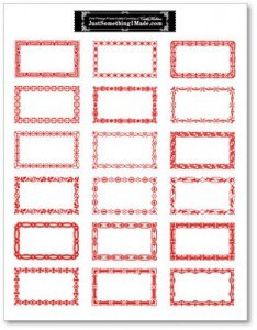 Free Printable Notes Tags And Labels Living Locurto