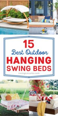 Best Outdoor Hanging Swing Beds - Home Decor Inspiration