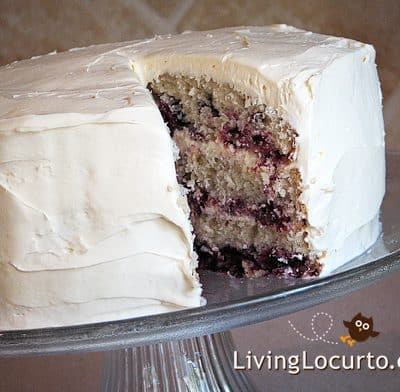 Fresh Blackberry Cake – Homemade Recipe