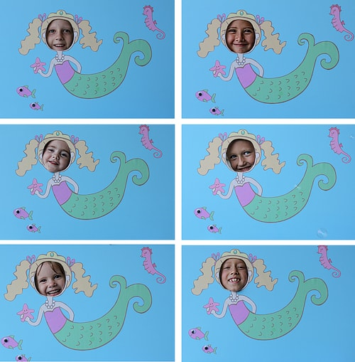Mermaid Party - Party Ideas - Photo Props - Living Locurto