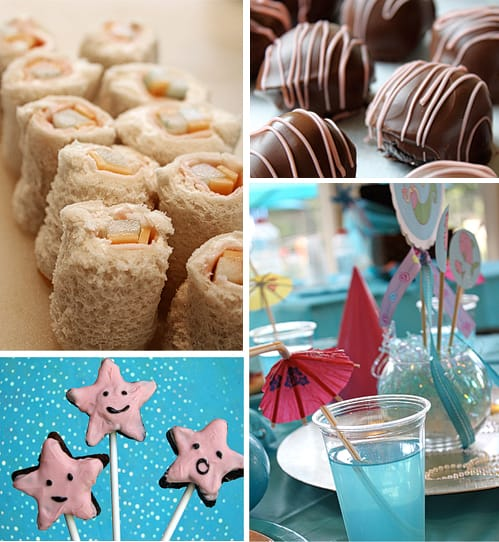Cute Mermaid Party Birthday Food Ideas by Amy Locurto LivingLocurto.com