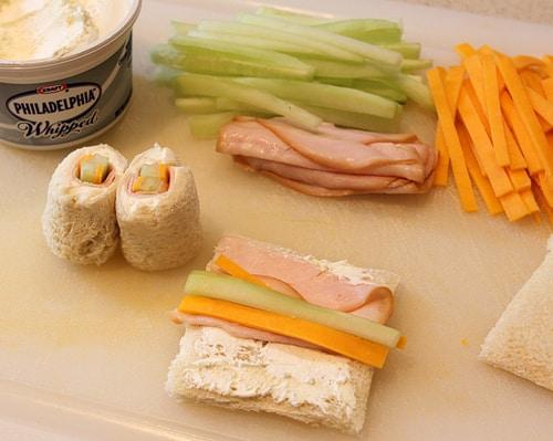 Fun Food Idea - Sushi Sandwiches - Mermaid Party - Living Locurto