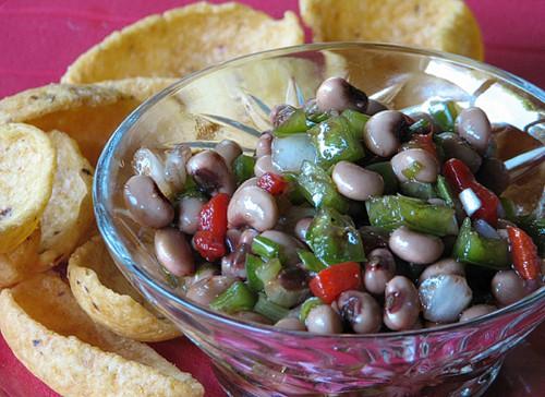 Cajun Caviar Dip Recipe. Serve with Fritos for a perfect appetizer for a party. LivingLocurto.com