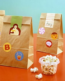 school Lunch Bag Stickers - Back to School Free Printables