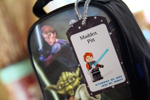 Free Printable Star Wars Lego Tags - Back to School Free Printables