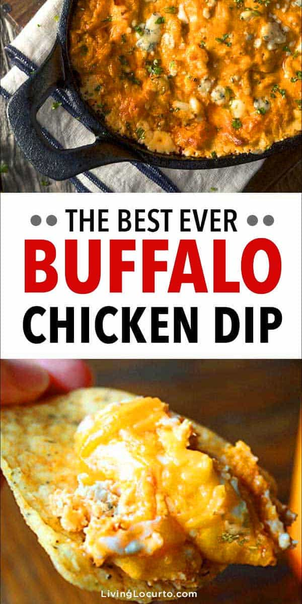 Best Buffalo Chicken Dip Recipe - Easy Football Game Day Party Food