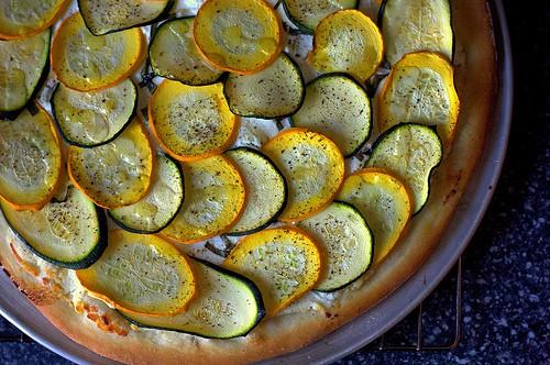 Smitten Kitchen Zucchini Pizza