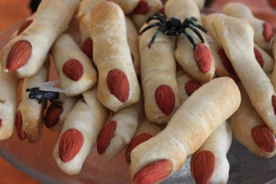 Free Meal Plan - Halloween Kid Friendly Recipes - Creepy Lady Fingers