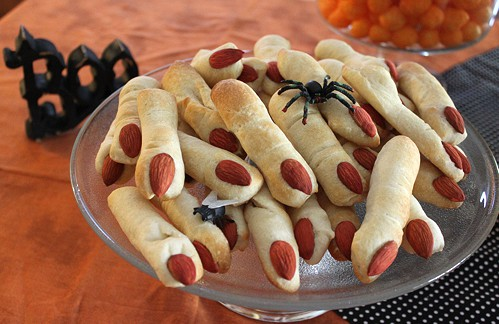 Halloween Party Food Ideas & Recipes - Fingers