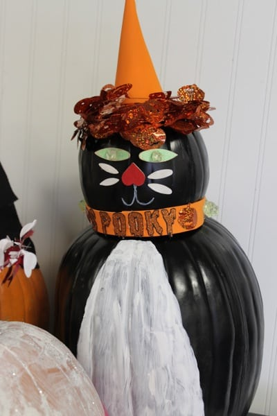 Halloween painted pumpkins Funny pumpkin painting ideas
