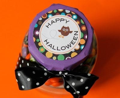 halloween mm cookies free printable circles