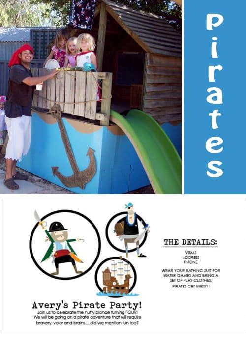 Pirate Party Ideas - Fun Kid Birthday Party Ideas