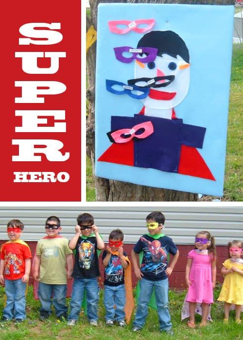 Superhero Party - Fun Kid Birthday Party Ideas