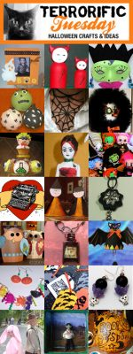 Terrorific Tuesday Halloween Craft Ideas