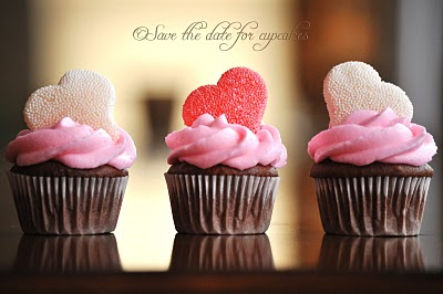 10 Valentine's Day Cupcake Ideas - Save the Date for Cupcakes