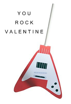 """You Rock"" Free Printable Valentine"