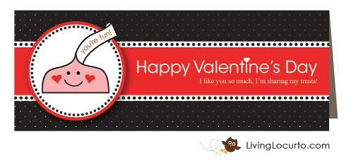 Free Printable Valentine Label by Amy Locurto at LivingLocurto.com