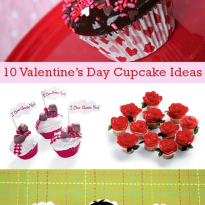 10 Sweet Valentine's Day Cupcake Ideas