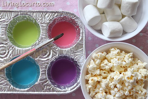 how to make edible paint craft activity for kids