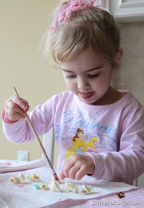 Indoor Fun With Edible Paint! Great Kids Activity LivingLocurto.com