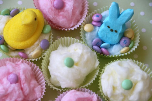 Easter Peeps Cotton Candy Easter Treats